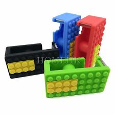 Bricks Lego Tape Dispenser Holder Portable Cutter Stationery home packing desk