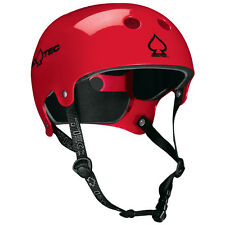 ProTec Watersports Helmet Old School Wake Gloss Red XS-S-M-L-XL Canoe Kayak