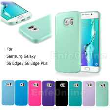 for Samsung Galaxy S6 Edge / S6 Edge Plus Slim Soft TPU Silicone Back Case Cover