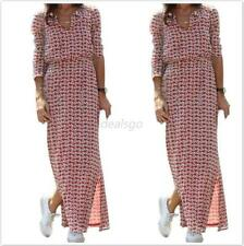 Women's Summer Long Maxi BOHO Evening Party Dress Casual Beach Dresses Sundress