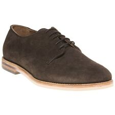 New Mens H by Hudson Brown Hallam Suede Shoes Lace Up