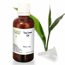 TEA TREE OIL - UNDILUTED  - 100%  PURE NATURAL ESSENTIAL OIL 12 ML TO 125 ML
