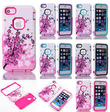 Shockproof Hybrid Rugged Rubber Hard Case Cover Skin For Apple iPhone iPod Touch