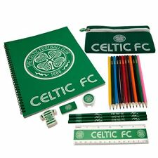 Celtic FC Ultimate Stationery Set Football Soccer Scottish League Teams