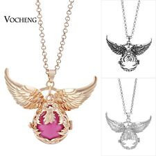 Vocheng Angel Wing Accessories Flower Necklace Stainless Steel Chain VA-100