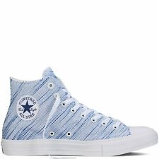 Converse Chuck Taylor All Star II Knit White/Blue//Navy 100% New 151085C A+