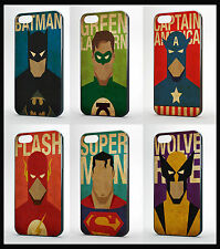 MARVEL DC RETRO PHONE CASES FOR IPHONE 4 4S 5 5s 5c 6  6 PLUS IPOD TOUCH 4 & 5