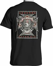 Biker T Shirt Legends Never Die USA Eagle Motorcycle Small to 6XL Free Shipping
