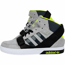 ADIDAS ORIGINALS MENS HARDCOURT DEFENDER TRAINERS HI TOP SUEDE SNEAKERS SHOES