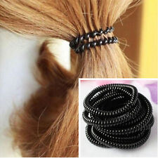 30pcs Hot Women Girls Colorful Rubber Thin Telephone Wire Hair Ties&Plastic Rope