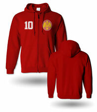 Men Spain Espana retro 1950 60 sweatshirt zipper hoodie european soccer football