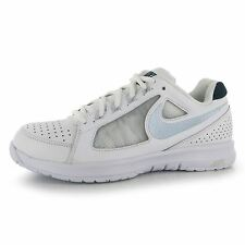 Nike Air Vapor Ace Tennis Shoes Womens White/Navy Trainers Sneakers