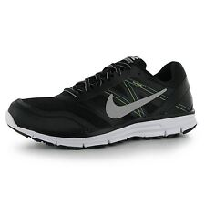 Nike Lunar Forever 4 Running Shoes Mens Black/Silver Fitness Trainers Sneakers