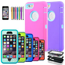 "Shockproof Rugged Hybrid Rubber Hard Cover Case For iphone 6S 5.5"" Plus 6s 4.7"""