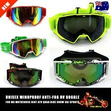 Adults Snow/Snowmobile/Snowboard/SKI/Dirt Bike GOGGLES Tinted Changeable Lens