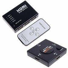 5 port/3 Port 1080P HDMI Switch Remote Video Switcher Splitter For PS3 HDTV DVD