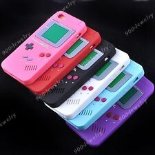 New Retro Stylish Gameboy Game Boy Silicone Gel Case Cover For Apple iPhone 5 5G