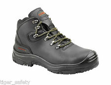 Samson XL 7005 S3 Black Waterproof Composite Toe Cap Safety Boots Hiker Boots