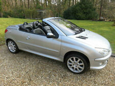 Peugeot 206 1.6 ( a/c )  Cabriolet Allure (Full Black Leather).
