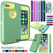 Hard Hybrid Shockproof Plastic Soft Silicone Skin Case Cover for iPod 5th Gen