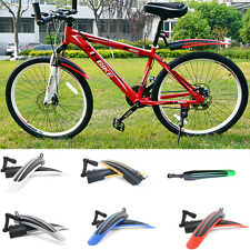 1 Set x Bike Mudguard Front/Rear Mudguard For Mountain Road Folding Bike etc PO
