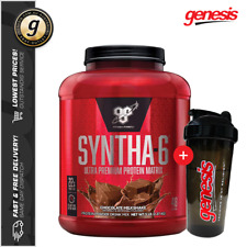 BSN SYNTHA 6 *5LB / 2.27KG* WPI WPC Blend Whey Protein + Towel!