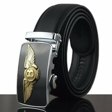Fashion Casual New Men's Automatic Buckle Genuine Real Leather Waist Strap Belts