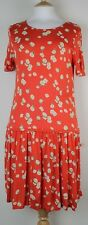 ex French Connection FCUK Ladies Summer Jersey Viscose Dress Multi Floral
