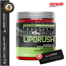 LIPO RUSH by BPM Labs *50 Serves* Thermogenic Powder Fat Burner