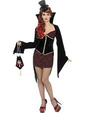 SALE! Adult Sexy Vamp Ladies Vampire Halloween Party Fancy Dress Costume Outfit