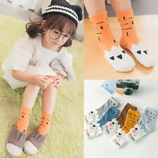 Cute Lot 10 pairs Cotton Cartoon Baby Girls Boys Toddler Kids Child Short Sock