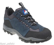 Himalayan 4021 S1P SRC Blue Suede Steel Toe Cap Gravity Sports Safety Trainers