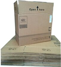 Large Cardboard Boxes Storage Packing Post House Moving Removal 48cmx28cmx38cm