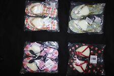 Vera Bradley Nwt Small Printed Flip Flops Flop Please Read Everything You Pick