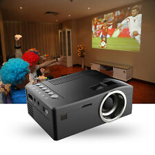 UC18 Full HD 1080P Mini LCD LED Portable Media Theater Home Projector HDMI USB