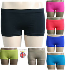 New Womens Ladies Boxer Boy Shorts Hot Pants Knickers Underwear Size S M L XL