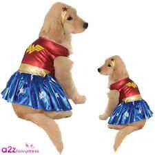WONDER WOMAN DOG PET PUPPY DC COMIC COSPLAY NOVELTY COSTUME OUTFIT