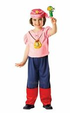 SALE! Kids Disney Izzy Jake & The Pirates Girls Fancy Dress Costume Party Outfit