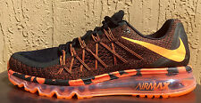 Mens Nike Air Max 2015 Anniversary Running Shoes Size 8/8.5/10/10.5/11/12 Black