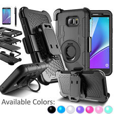 RUBBERIZED HARD CASE COVER + BELT CLIP HOLSTER w/ STAND FOR SAMSUNG  iPHONE