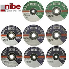 SBS Flex Discs Cutting Discs Inox Stainless Steel Stone in various sizes new