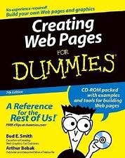 Creating Web Pages for Dummies by Bud E. Smith and Arthur Bebak (2004,...