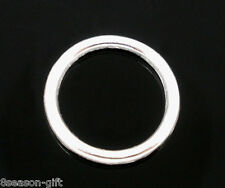 Gift Wholesale SP Soldered Closed Jump Rings 14x2mm Findings
