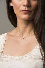 White Pearl Necklace, Bridesmaid Gifts, Freshwater Pearl Necklace Gold Chain