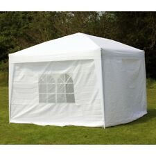 10 x 10 PALM SPRINGS EZ POP UP CANOPY GAZEBO TENT WITH 4 SIDE WALLS NEW