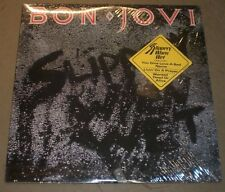 Slippery When Wet Bon Jovi~NM Vinyl~Inner Lyric Sleeve~Hype Sticker~FAST SHIP!!!