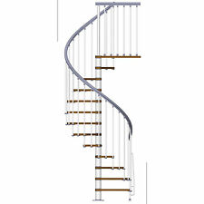 Arke Fontanot ZipO Spiral Staircase - A DIY Stair Kit, Build Yours in a Weekend
