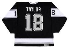 DAVE TAYLOR Los Angeles Kings 1993 CCM Vintage Throwback Away NHL Hockey Jersey