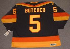GARTH BUTCHER Vancouver Canucks 1987 CCM Vintage Away NHL Hockey Jersey