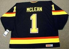 KIRK MCLEAN Vancouver Canucks 1994 CCM Vintage Throwback NHL Hockey Jersey